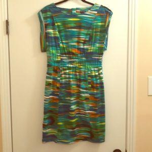 Cute little watercolor dress!